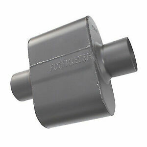 Flowmaster 843015 Universal Race Super 10 Muffler 3 Center In 3 Center Out