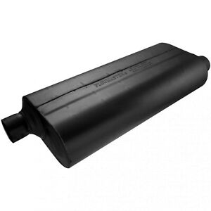 Flowmaster 52573 Universal 70 Series Muffler 2 5 Offset In 2 5 Offset Out