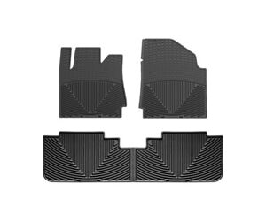 Weathertech All Weather Floor Mats For Cadillac Srx 2010 2016 1st 2nd Row Black