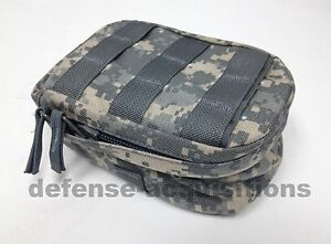 New ACU MOLLE Leaders Set Pouch Utility Pouch Admin Pouch US Military w Inserts $14.49