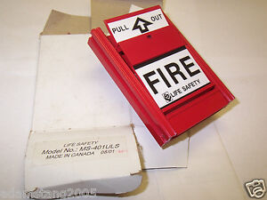 New Life Safety Fire Alarm Pull Station Ms 401uls