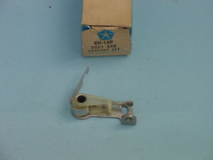 1962 1963 1964 1965 Nos Mopar Max wedge Hemi Pair Ignition Points 2 Sets
