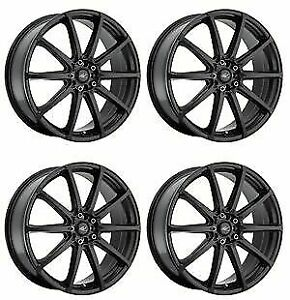 Icw Racing 215b Banshee 215b 5650238 Qty 4 Rims 15x6 5 38mm 4x100 Satin Black