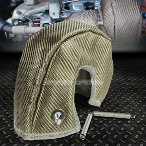 T25 T28 Gt25 Gt28 Gt30 Gt35 Turbo Turbocharger Titanium Heat Shield Wrap Blanket