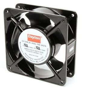 Dayton Axial Fan 115 Volts Ac 18 Watts 107 Cfm Model 6kd76