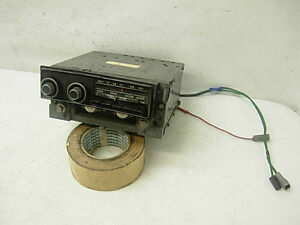 1971 1972 1973 Mopar Dodge Plymouth C Body Orig Am Fm Radio With Knobs 71 72 73