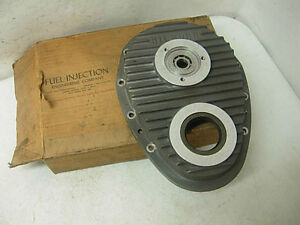 Nos 1960s Hilborn Magnesium Timing Cover Pdc 4 1 Chevy 327 350 Fuel Injection