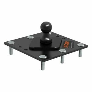 Curt 61100 Over Bed 2 5 16 Fixed Trailer Ball Gooseneck Hitch