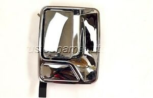 For Ford F Pickup Outside Outer Exterior Door Handle Passenger Rear Right Chrome