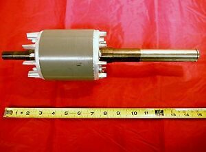 Bridgeport Mill Part Milling Machine Rotor Assembly Motor Shaft 1 5 Hp M9941