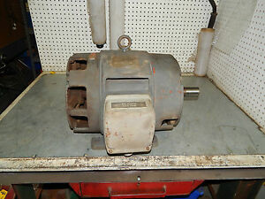 Westinghouse Tbdp Motor 15hp 1750rpm 3phase Frame 254t