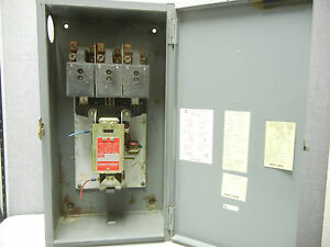 Square D 8903 Qg 11 Used 100a Tungsten And Ballast Lighting Contactor 8903qg11