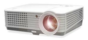 New Pyle 1080p Prjd901 Widescreen Led Projector Upto 140 W Speakers usb Reader