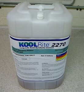 Koolrite 2270 Soluble Oil Coolant Cutting Fluid For Cnc Machinery