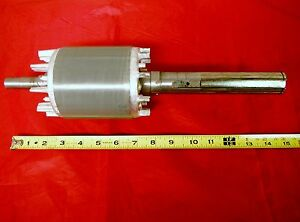 Bridgeport Mill Part Milling Machine Rotor Assembly Motor Shaft 2 Hp M44484