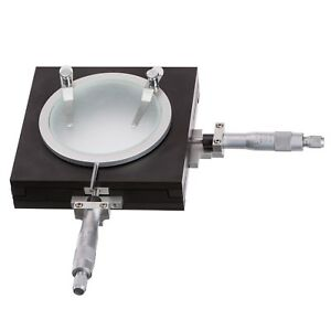 Amscope Gt200 0 01mm Precise Gliding Table Manual Stage For Microscopes