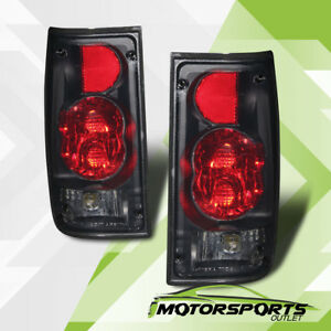 1989 1995 Toyota Pickup Truck Altezza Style G2 Tail Lights Black Smoke New Pair