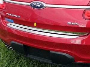 Fits Ford Taurus 2010 2018 Stainless Steel Chrome Rear Deck Trim Insert 1pc