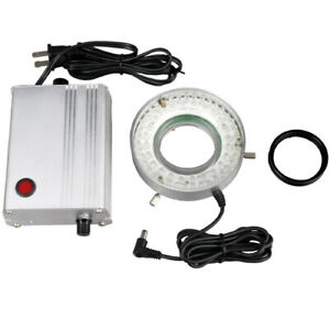 Amscope 60 Led Solid Metal Microscope Ring Light With Heavy duty Control Box