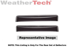 Weathertech Side Window Deflectors 2012 2016 Ford Focus 71573