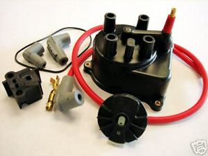 Msd 92 00 Honda Civic B16a2 D16y8 Distributor Cap Rotor Kit For External Coil