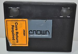 Crown Forklift Lift Truck Scr Electronic Control Ii Part 107962 oor