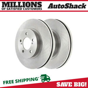 Front Brake Rotor Pair For 1992 2006 Camry 1995 2004 Avalon 1998 2003 Sienna