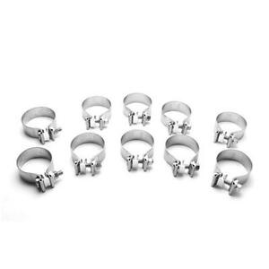 Magnaflow 10167 Universal Torca Ss Exhaust Band Clamps 5 10 Pack