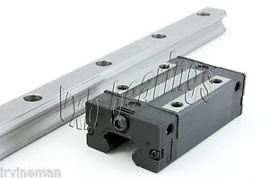 Heavy Duty 20mm 30 Rail Cnc Guideway System Square Slide Unit Linear Motion