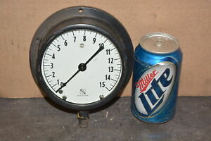 Ashcroft 0 15 Psi Pressure Gauge 1 4 npt made In Usa Inv 13250