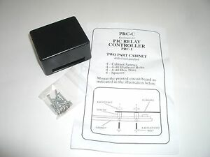 Rainbowkits Prc c Case For Pic Relay Controller Time Delay Dpdt Power Relay Kit