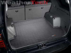 Weathertech Trunk Cargo Liner For Toyota 4runner W O 3rd Row 2003 2009 Black