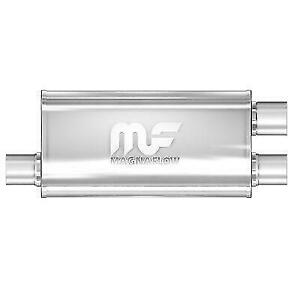 Magnaflow 12266 Universal 5 X8 Oval Dual Stainless Steel Performance Muffler