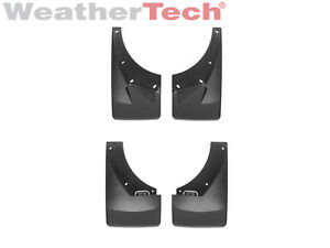 Weathertech No drill Mudflaps For Chevy Tahoe gmc Yukon Front rear Set Black