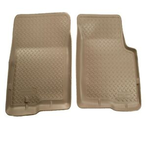 Husky Liners 35113 Tan Classic Style Front Floor Liners For 95 04 Toyota Tacoma