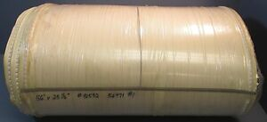 White Pvc Conveyor Belt 56 Length 25 1 2 Width With Rubber Cleating Nwob