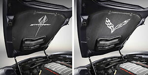 C7 Corvette Stingray Genuine Gm Oem Underhood Liner With Logo