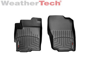 Weathertech Floorliner For Mitsubishi Lancer 2008 2017 1st Row Black