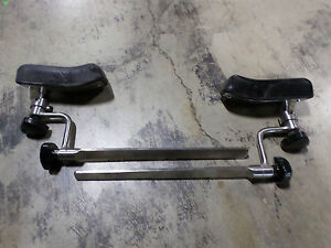 Mizuho Osi Surgical Table Attachment With Pad Set Of 2