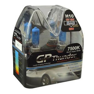 Gp Thunder Ii 7500k H10 9145 Xenon Halogen Light Bulb 42w Super White Sgp75 H10