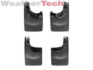 Weathertech No drill Mudflaps For Toyota Tacoma 4x4 2005 2015 front