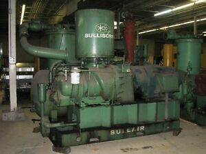 Sullair 32 300l Air Compressor Complete Unit Replacement Motor