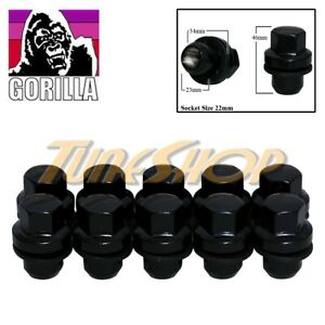 10 Gorilla Range Rover 14x1 5 Oem Oe Stock Factory Wheels Rim Mag Lug Nuts Black