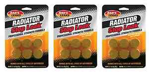 Bar s Leaks Hdc Radiator Stop Leak Tablets Heavy Duty 3 packs