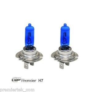 Gp Thunder Ii 7500k H7 Xenon Halogen Headlight Bulb 55w Super White Sgp75 H7