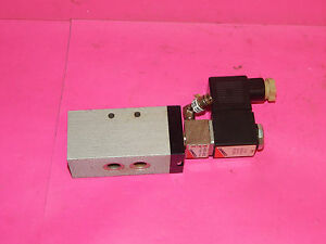 Camozzi 438 35 Valve 10bar With A331 3c2 Solenoid A7d Coil 43835 A3313c2