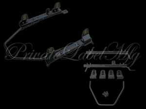 Plm Super Low Down Seat Rail bracket For Rsx 02 06 Right Passenger Side
