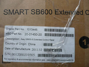 New Smart Sb600 Extended Control Panel For 600i4 Whiteboard Sb600 i5 1013445