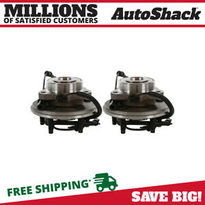 Front Pair 2 Wheel Hub Bearing Assembly Fits 2006 10 Ford Explorer Hb615080pr