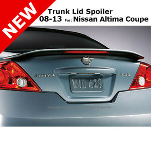 For Nissan Altima Coupe 2 Dr 08 13 Abs Trunk Rear Wing Spoiler Unpainted Primer